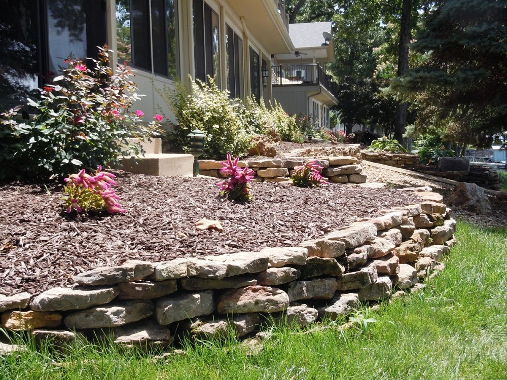 Landscape & Landscaping Stone Wall