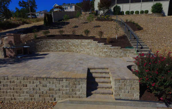 Retaining Walls at Lake of the Ozarks