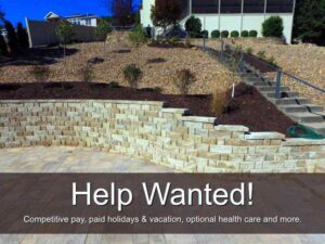 Landscaping jobs and experienced crew leaders wanted